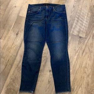 Joe's Jeans Skinny Ankle Raw Edge 31